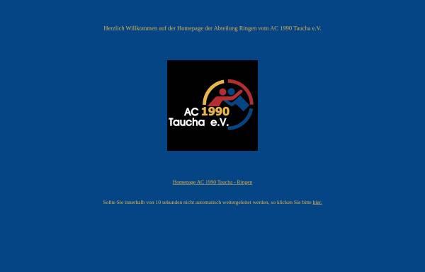 Vorschau von www.ringen-taucha.de, AC 1990 Taucha e.V.