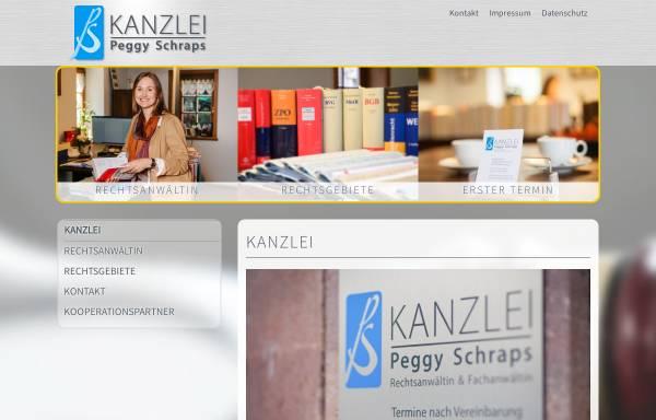 Vorschau von www.kanzlei-schraps.de, Kanzlei Peggy Schraps - Fachanwältin für Familienrecht