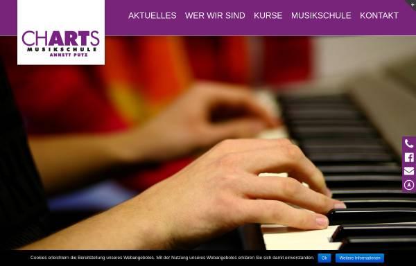 Vorschau von www.musikschule-charts.de, Musikschule Charts