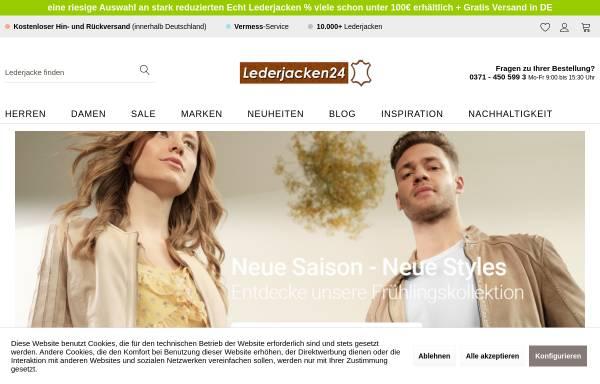 Vorschau von shop.lederjacken24.de, Lederjacken24