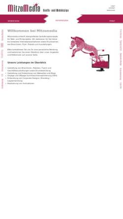 Vorschau der mobilen Webseite mitzomedia.de, Mitzomedia
