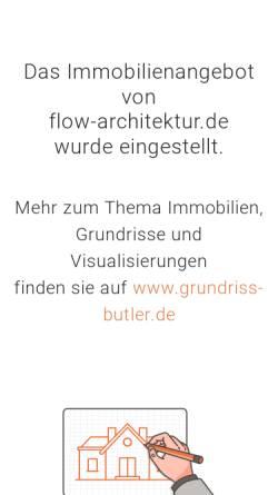 Vorschau der mobilen Webseite www.flow-architektur.de, Flow.studio GmbH