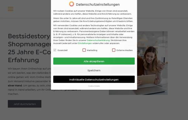 Vorschau von www.bestsidestory.de, Bestsidestory GmbH