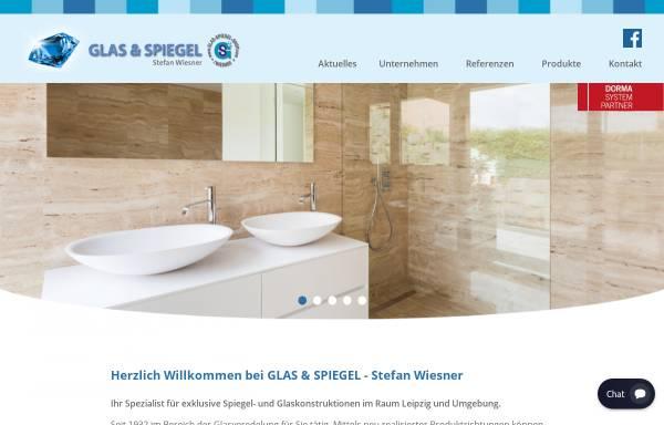 Vorschau von www.glas-spiegel-shop.de, Glas & Spiegel Stefan Wiesner