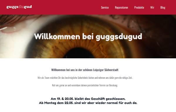 Vorschau von www.guggsdugud.de, Guggsdugud Augenoptik - Inh. Matthias Linke: