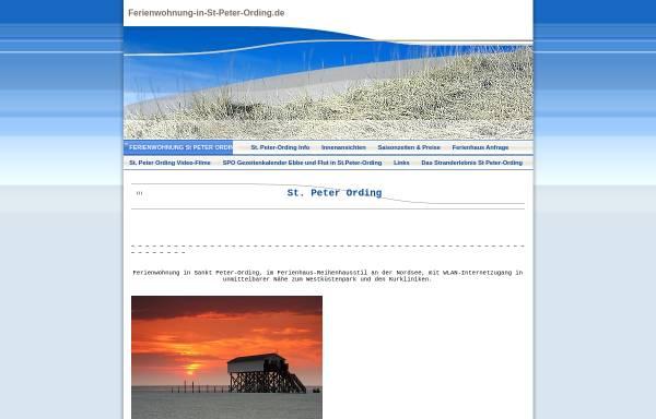 Vorschau von www.ferienwohnung-in-st-peter-ording.de, Lütt Witthues