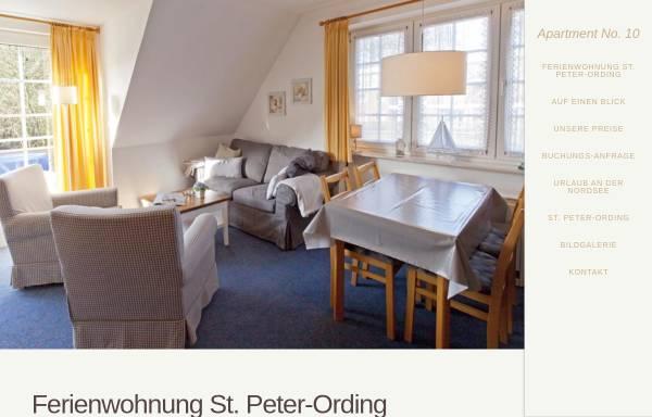 Vorschau von www.apartment-no-10.de, Apartment No. 10 im Haus Nis Randers