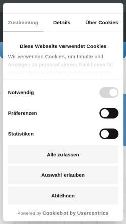 Vorschau der mobilen Webseite www.beachmotel-spo.de, Beach Motel
