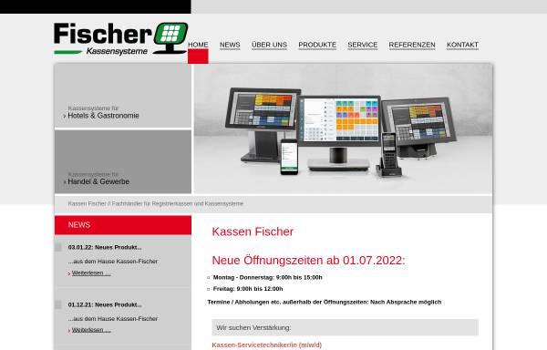 Vorschau von www.kassen-fischer.de, Registrierkassen Egon Fischer oHG