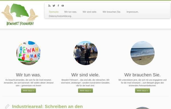 Vorschau von www.bewahrt-fehmarn.de, Bewahrt Fehmarn