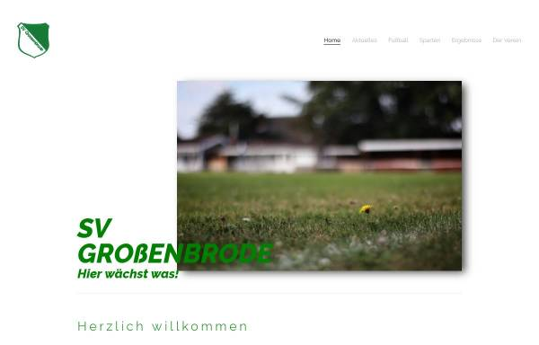 Vorschau von www.svgrossenbrode.de, SV Großenbrode