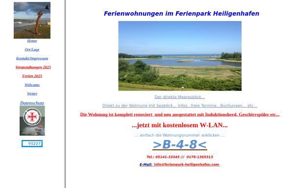 Vorschau von www.ferienpark-heiligenhafen.com, Ferienwohnung Droese
