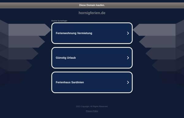 Vorschau von www.hornigferien.de, Ferien im olen Fischerhus