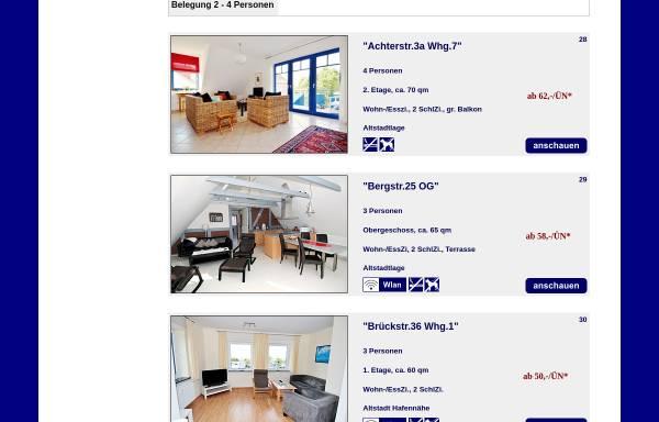 Vorschau von www.appartements-heiligenhafen.de, Appartements-Heiligenhafen.de