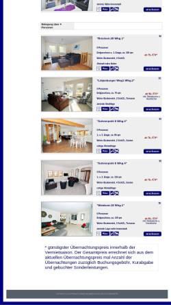 Vorschau der mobilen Webseite www.appartements-heiligenhafen.de, Appartements-Heiligenhafen.de