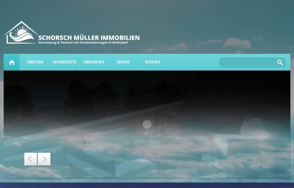 Vorschau von www.sierksdorf-traumblick.de, Schorsch Müller Immobilien