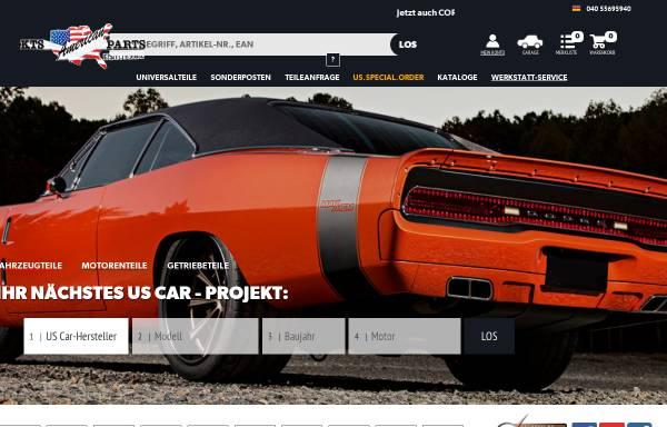 Vorschau von www.kts.de, KTS American Parts GmbH