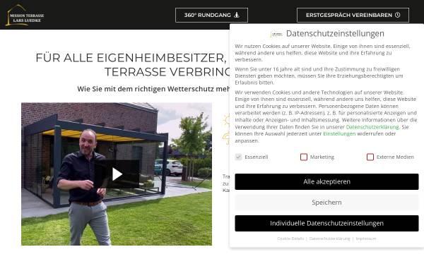 Vorschau von www.terrassendach24.de, C & L GmbH
