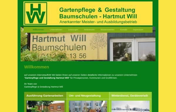Vorschau von www.will-gartenbau.de, Gartenpflege Hartmut Will