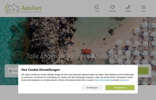 Vorschau von www.apulien-reisen.de, Apulien-Reisen