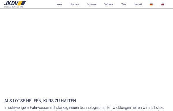Vorschau von www.jkdv.de, JK DV-Systeme GmbH