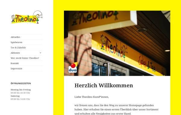 Vorschau von theolino-spiel.de, Willkommen bei Theolino