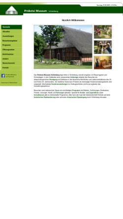 Vorschau der mobilen Webseite www.probstei-museum.de, Probstei-Museum