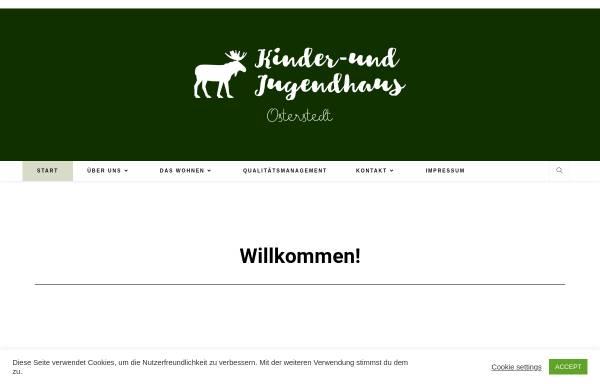Vorschau von kinder-und-jugendhaus-osterstedt.de, Kinder- und Jugendhaus Osterstedt