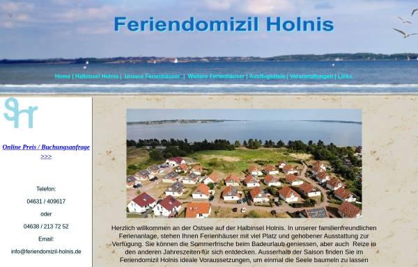Vorschau von www.feriendomizil-holnis.de, Feriendomizil Holnis