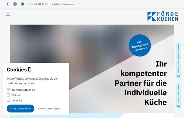 Förde-Küchen Manfred Kania GmbH & Co KG: Wirtschaft, Handewitt ...