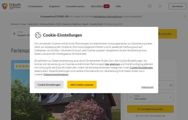 Vorschau von www.fugeweb.de, Ferienwohnung im Ortsteil Mehlby