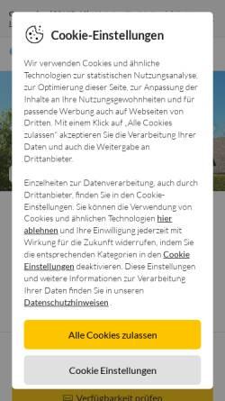 Vorschau der mobilen Webseite www.fugeweb.de, Ferienwohnung im Ortsteil Mehlby