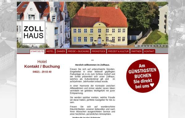 Vorschau von www.zollhaus-zu-gottorf.de, Zollhaus zu Gottorf