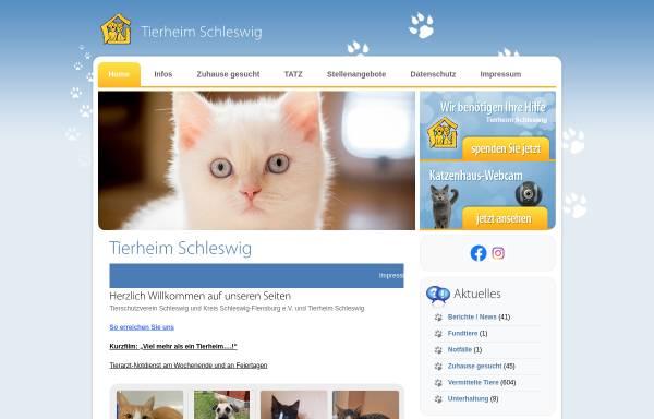 Vorschau von www.tierheim-sl.de, Tierheim Schleswig