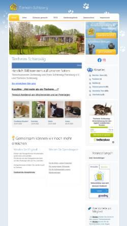 Vorschau der mobilen Webseite www.tierheim-sl.de, Tierheim Schleswig