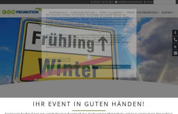 Vorschau von www.fun-promotion.de, Fun Promotion