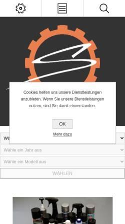 Vorschau der mobilen Webseite www.stechermoto.de, Stecher Moto