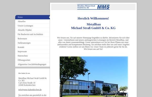 Vorschau von www.mms-kaltenkirchen.de, Metallbau Michael Straß GmbH & Co. KG