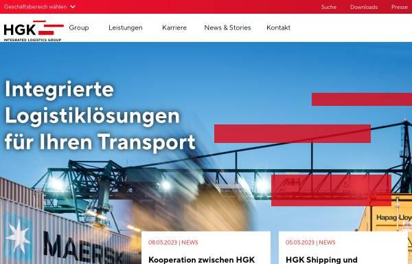 Vorschau von www.hgk.de, HGK Häfen und Güterverkehr Köln AG