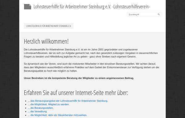 Vorschau von www.vlfa.de, Lohnsteuerhilfe für Arbeitnehmer e.V. Steinburg