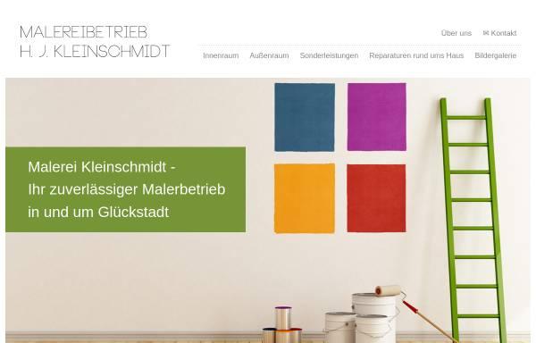 Vorschau von www.malerei-kleinschmidt.de, Malerei Kleinschmidt