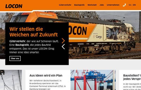 Vorschau von www.locon-ag.de, Locon Logistik & Consulting AG