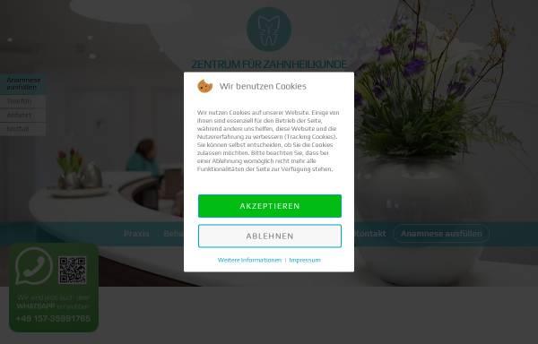 Vorschau von www.zahnarztpraxis-horst.de, Zentrum für Zahnheilkunde Westholstein