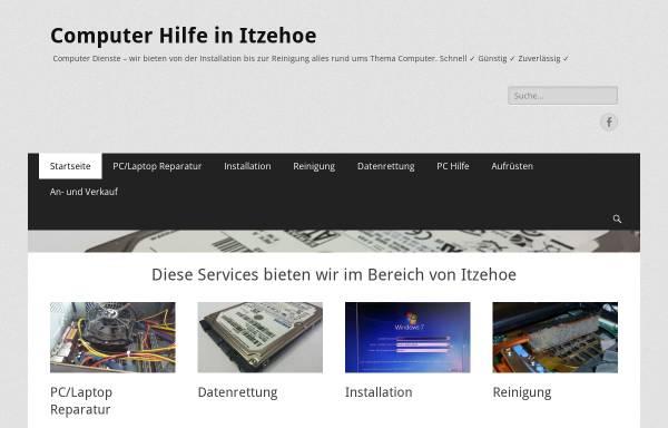 Vorschau von www.tip-iz.de, Computer Hilfe in Itzehoe, Valentino Piras