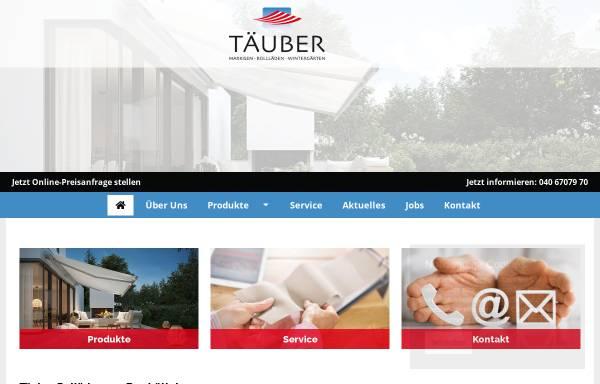 Vorschau von www.taeuber.de, Karl Täuber Rolläden GmbH
