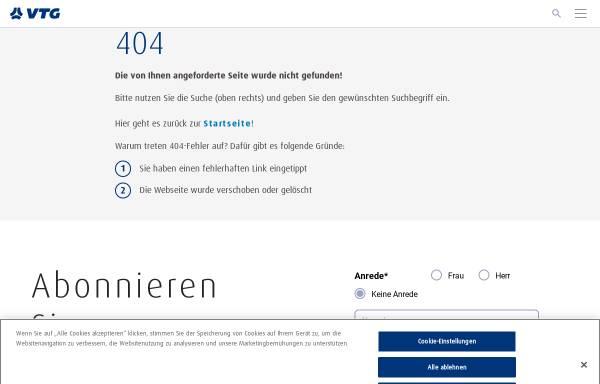 Vorschau von www.transpetrol.de, Transpetrol GmbH