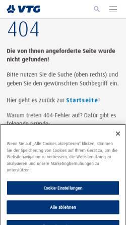 Vorschau der mobilen Webseite www.transpetrol.de, Transpetrol GmbH