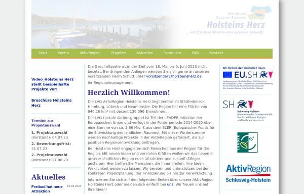 Vorschau von www.holsteinsherz.de, Holsteins Herz e.V.