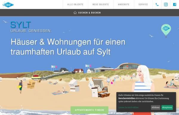 Vorschau von www.ibf-sylt.de, IBF Sylt