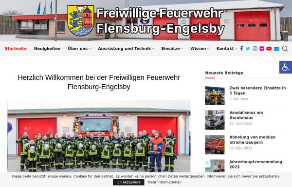 Vorschau von www.feuerwehr-engelsby.de, Freiwillige Feuerwehr Flensburg-Engelsby